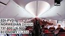 NORWEGIAN AIR | Edinburgh - Providence (Boston) | 737-800 | Full Flight | Trip Report