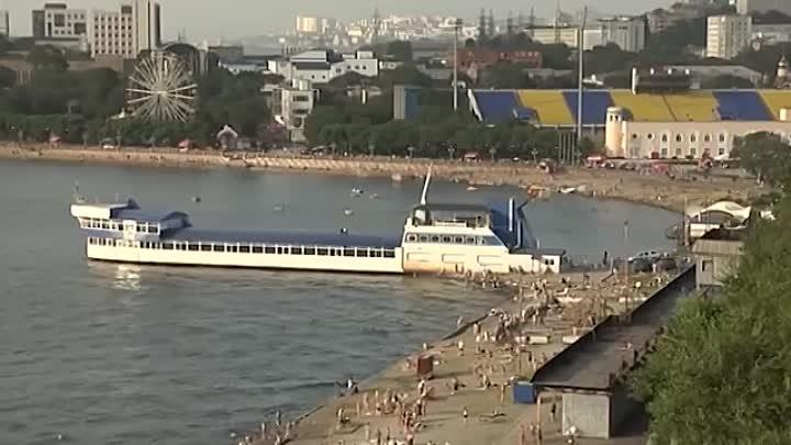 Город у моря. Владивосток