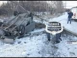 День жестянщика в Ачинске из-за сильнейшей гололедицы водители массово бьются в ДТП