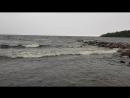 Ладожское озеро. Штормит.