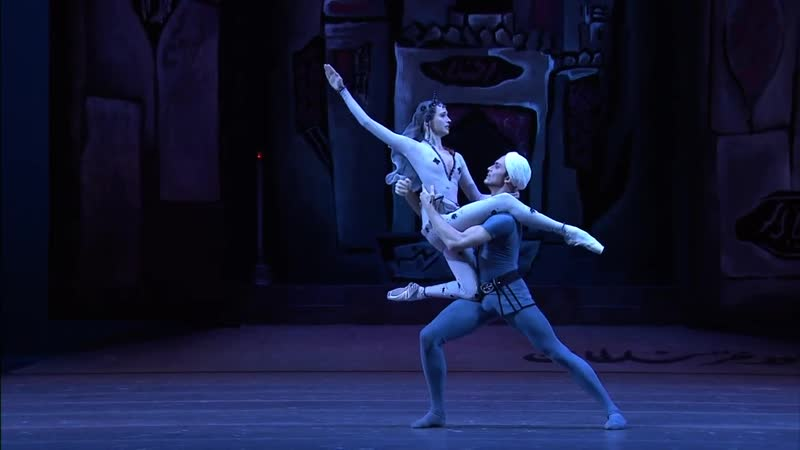 The Legend of Love (Act 2) - ballet (Bolshoi Ballet, Maria Allash, Denis Rodkin)