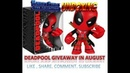Free Deadpool Giveaway Worlds Finest Superman Unboxing August