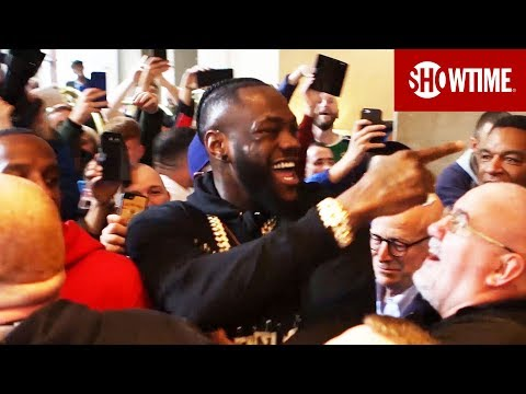 Deontay Wilder Confronts Tyson Fury | SHOWTIME Boxing