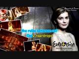 Emmelie de Forest- Only Teardrops (karaoke-instrumental) Denmark ESC 2013