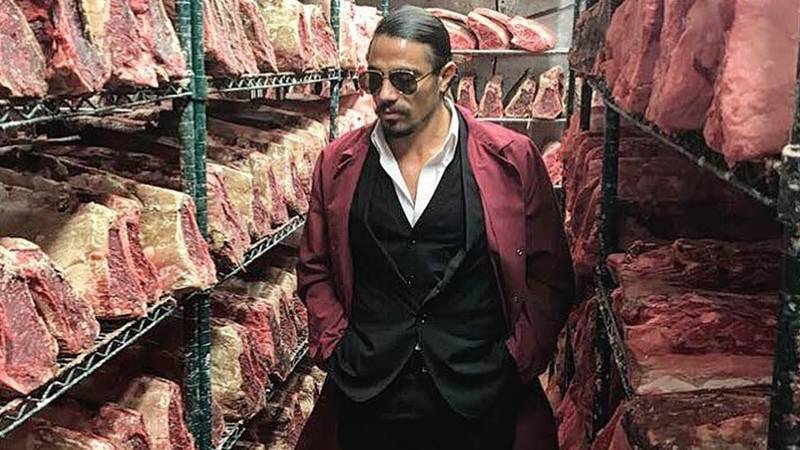 Salt Bae Cutting The Best Meat In Nusret Steakhouse ISTANBUL 2 nusr et