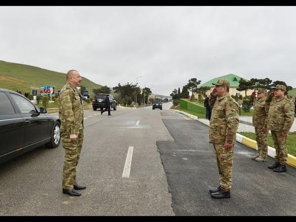 Prezident İlham Əliyev Müdafiə Nazirliyinin N saylı hərbi hissəsində olub