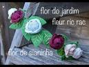 Comment comment faire fleurs de Ruban Ric Rac -Flores de sianinha