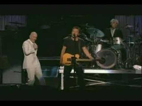 R.E.M. w Bruce Springsteen - Man on the Moon (Wash. DC 04)