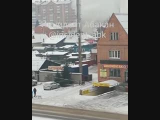 горит дом по ул. Богдана Хмельницкого