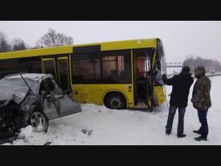 В районе Мозыря произошла серьезная авария
