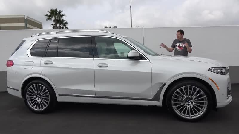 Вот почему BMW X7 2019 года это лучший большой люксовый внедорожник