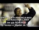 O dia em que Romário foi Técnico e Jogador pelo Vasco