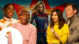 The Captain Marvel cast on keeping the MCU's secrets