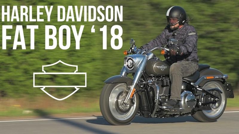 Harley Davidson Fat Boy 2018 МОТОЗОНА №37