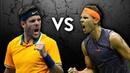 Nadal vs Del Potro - 10 Minutes of WORLD CLASS TENNIS!