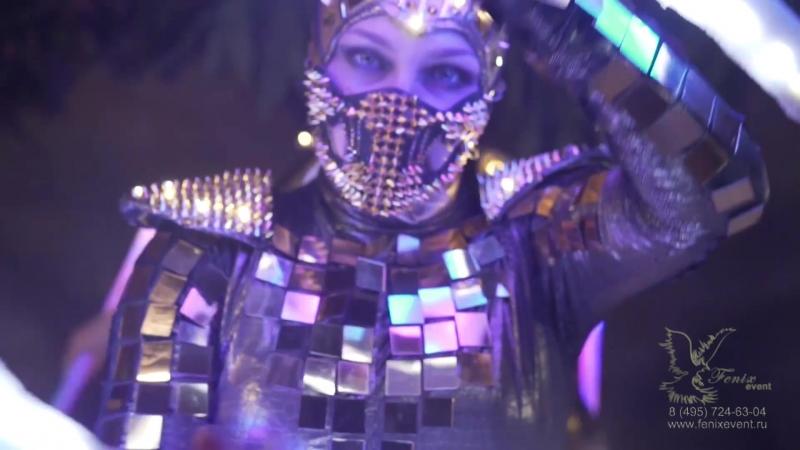 Заказать световое неоновое шоу на праздник, свадьбу, юбилей, корпоратив и новый год Москва