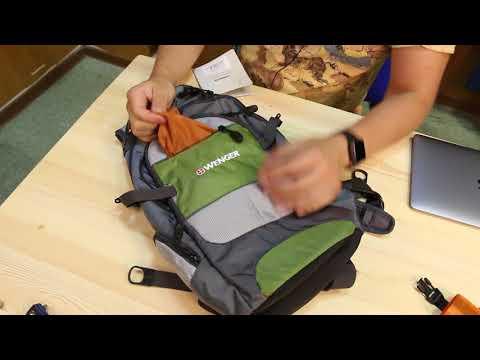 Рюкзак WENGER «NARROW HIKING PACK», 19 л | 3855руб. ($58)