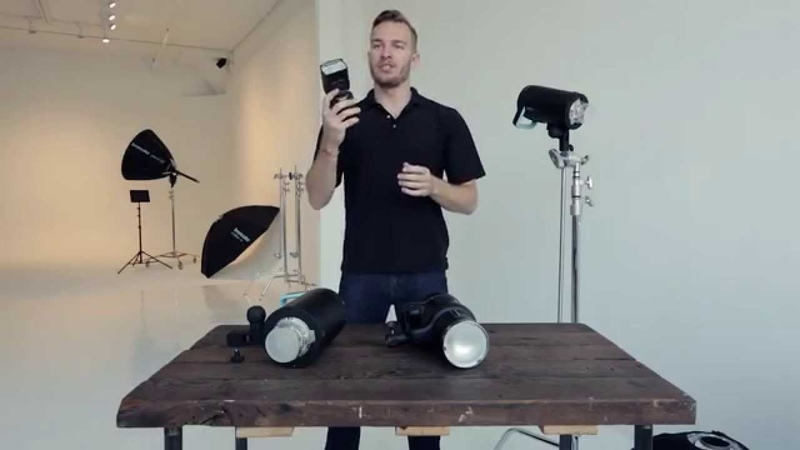 Erik Valind demonstrates the broncolor Siros - Overview