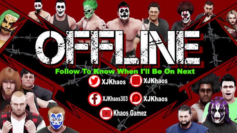 MXW Tuesday Night TerrorZone TV Live - WWE 2k19 [Custom Universe]