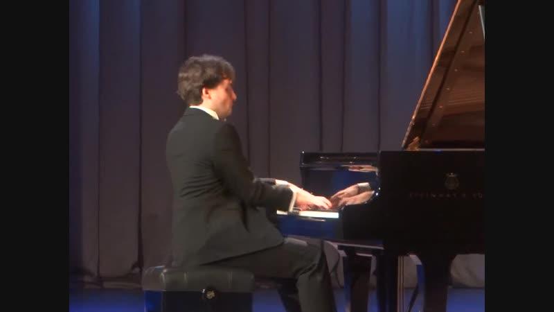 Арсений Тарасевич-Николаев. Вечер фортепианной музыки 15.12.18