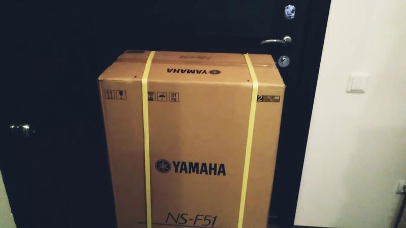 Распаковка YAMAHA NS-F51
