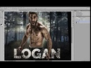 How to make a Wolverine/Logan - Before/After Retouching in Adobe Photoshop