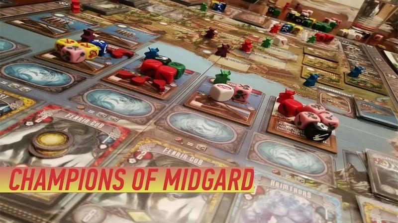 Геймплей 127 - Сhampions Of Midgard (Чемпионы Мидгарда) (Правила)