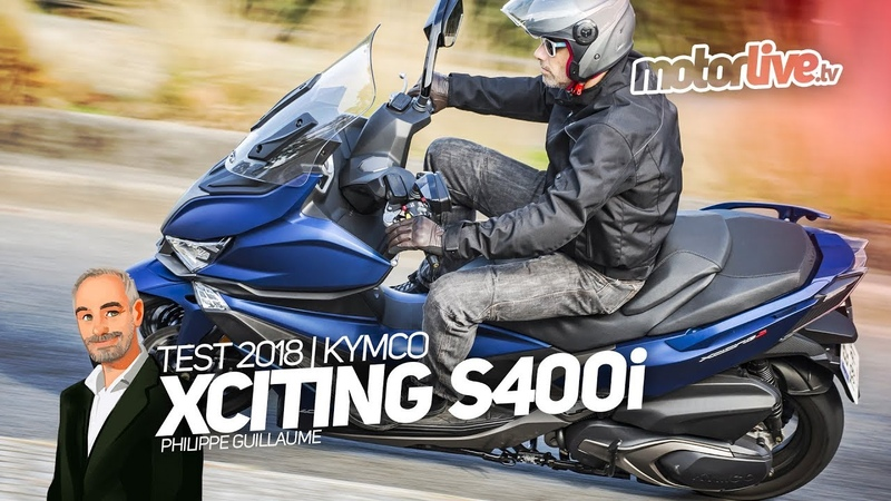 KYMCO XCITING S400i | TEST 2018