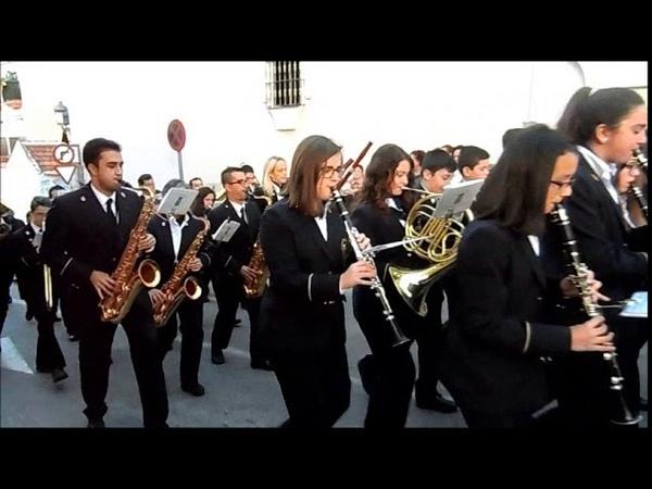 ALHAURIN de la TORRE, Sabado de Pasion 2018, Banda Municipal de Musica, 24/03