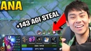 ANA SLARK WITH 143 AGI STEAL IMBA DOTA 7.20D