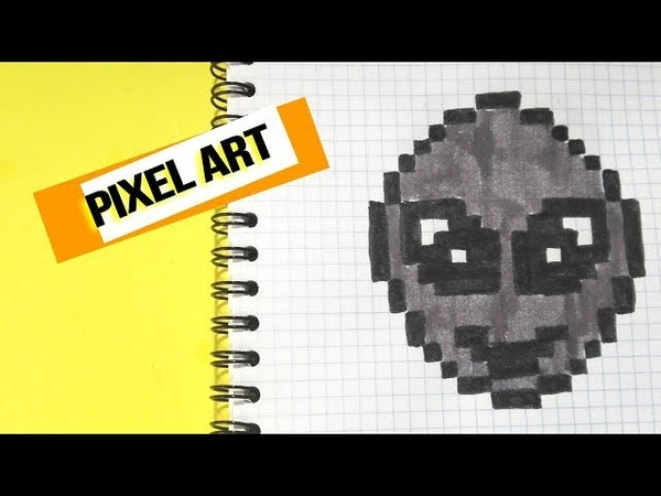 How to draw emoji Ovni- PIXEL ART