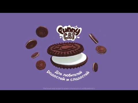 Sound Design, Music, Voices for Video Funny Cat cookie