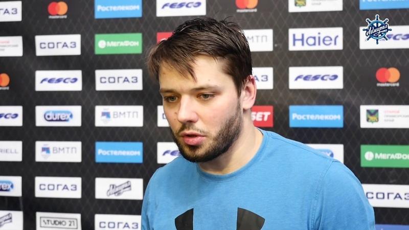 Александр Угольников подвел итоги игры с «Динамо»