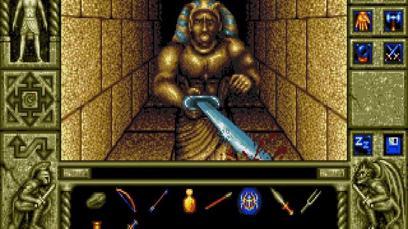 Waxworks - Video Game loop demo. PC MS-DOS, 1992