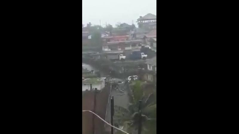 Damn This is scary Just received this on WhatsApp Madikeri li agirodu ante KeralaFloods