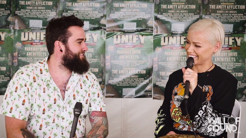 Wall of Sound Up Against The Wall - Tonight Alive UNIFY 2018 Interview
