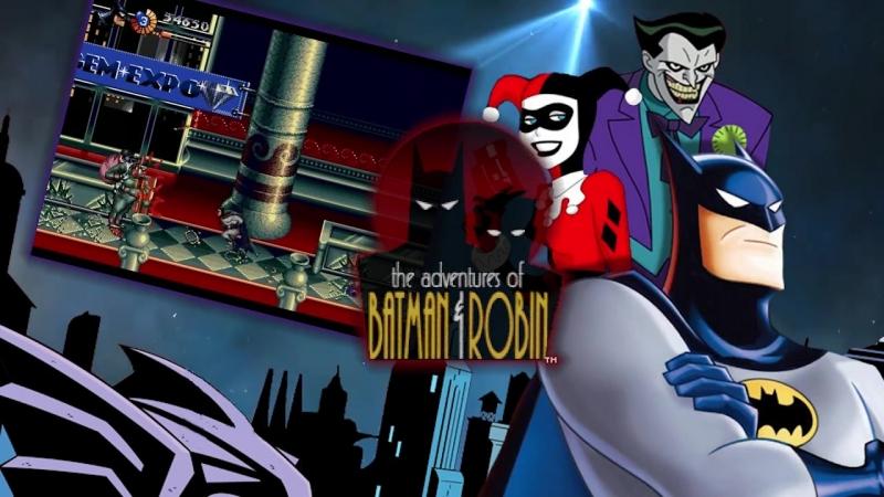 The Adventures of Batman Robin (Sega MD)