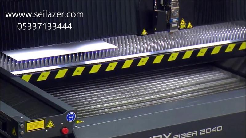 Metal Lazer Kesim Makinesi - Mercury Fiber Makinası 500 ila 5000 watt