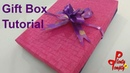 How to make a gift box Packing boxes jewelry box Cardboard boxes
