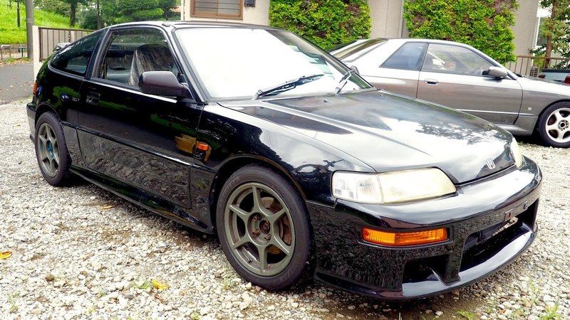 1989 Honda CR X SiR EF8 USA Import Japan Auction Purchase Review