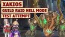 King's Raid Guild Raid Xakios Hell Mode Showcase Brief Guide