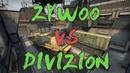 CSGO: POV aAa ZywOo vs Divizion (38/21) train @ ESEA MDL Season 27 EU