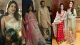 Priyanka Chopra,Raveena Tandon And Sakshi Dhoni At Isha Ambani Pre Wedding Celebration Party