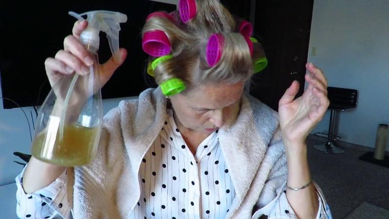 Холодная укладка волос на натуральный закрепитель из лимонов