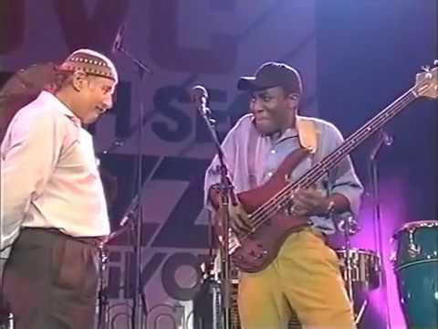 Richard Bona bass and Paco Sery drums solos - Zawinul Syndicate