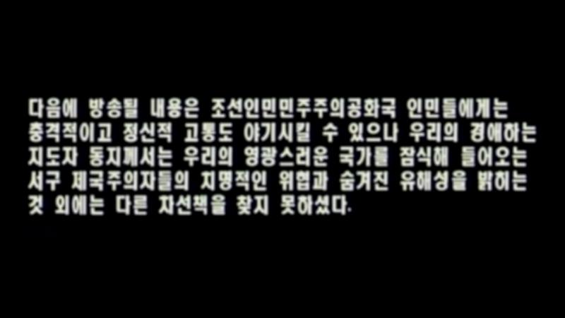 Северокорейский контрпропагандистский фильм Пропаганда