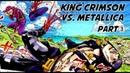 JJBA MMV musical reference Metallica vs Doppio (Metallica - Battery)