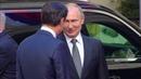 Roma Incontro Conte Putin l'arrivo a Palazzo Chigi 04 07 19