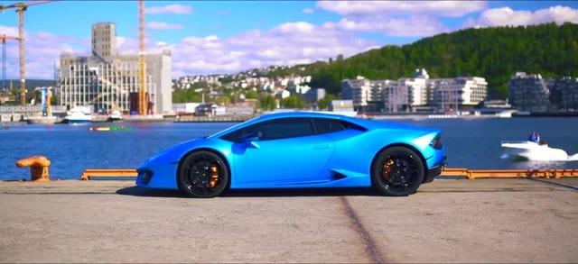 Lamborghini Huracan\Fabian Mazur - The Groove (Original Mix) coub