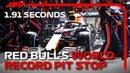 Red Bulls World Record Pit Stop 2019 British Grand Prix